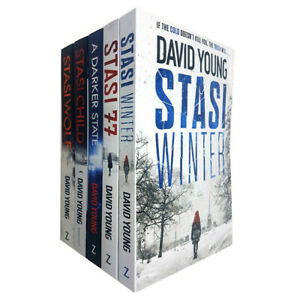 Karin-Muller-Series-5-Books-Collection-Set-by-David-Young-Stasi-Child-PB-NEW