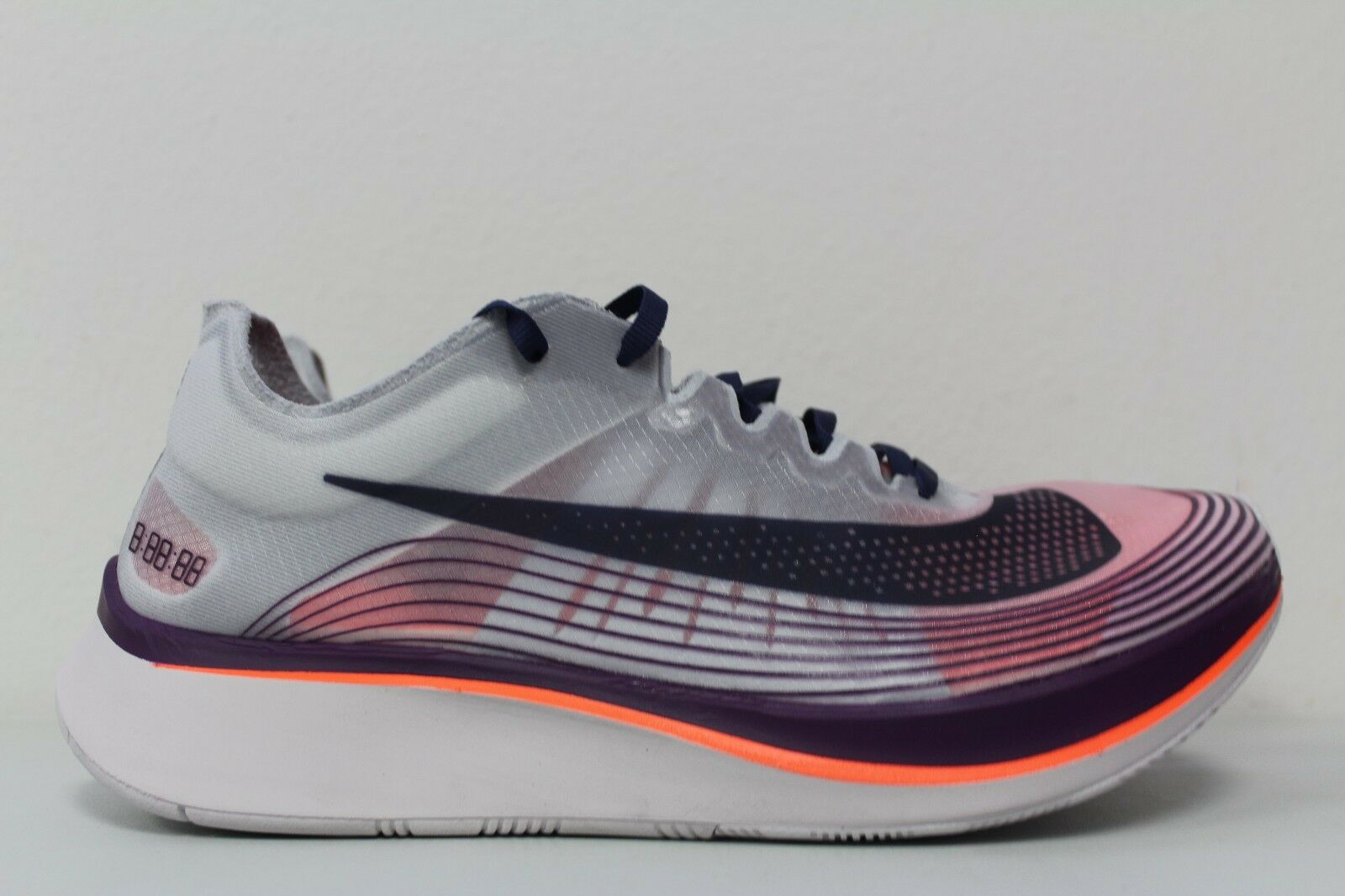 fa96a85ea4c3 Nike Mens Mens Mens NikeLab Zoom Fly SP Size 6 Running Shoes Neutral Indigo  AA3172-