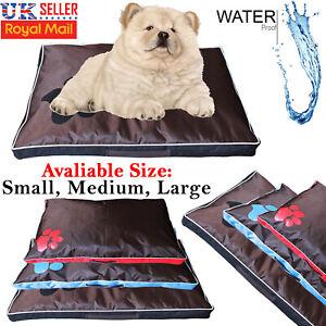 Deluxe-Pet-Dog-Cat-Mat-Soft-Cushion-Mattress-Luxury-Waterproof-Pillow-Warm-Cover