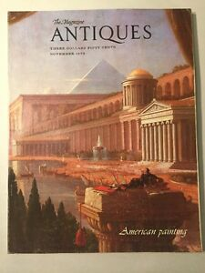Vintage-ANTIQUES-Magazine-November-1979-19th-Century-American-Paintings-Issue
