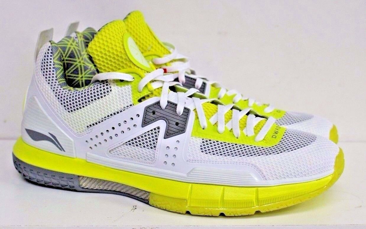 wholesale dealer 57f9e a9549 LI-NING WAY OF WADE WOW 5. ABAL047-15. GREEN WHITE SZ