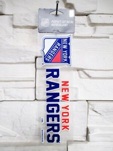 New-York-Rangers-Aufkleber-23cm-Logo-Decal-Badge-Emblem-NHL-Eishockey