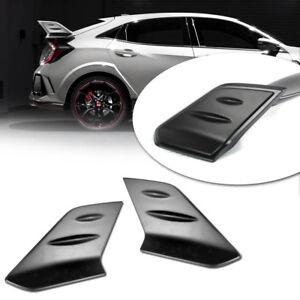 Matte Black For Honda Civic 10th X Sedan Type-R Spoiler ...