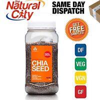 The Chia Co Chia Seed Black 1kg - Free Samples