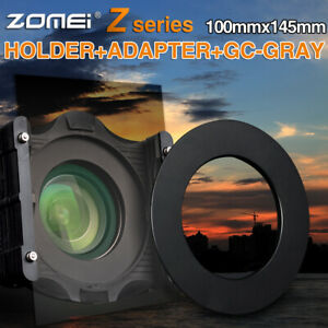 150x100mm-Graduated-Grey-ND4-Square-Filter-Holder-Adapter-Ring-for-Cokin-Z-Serie