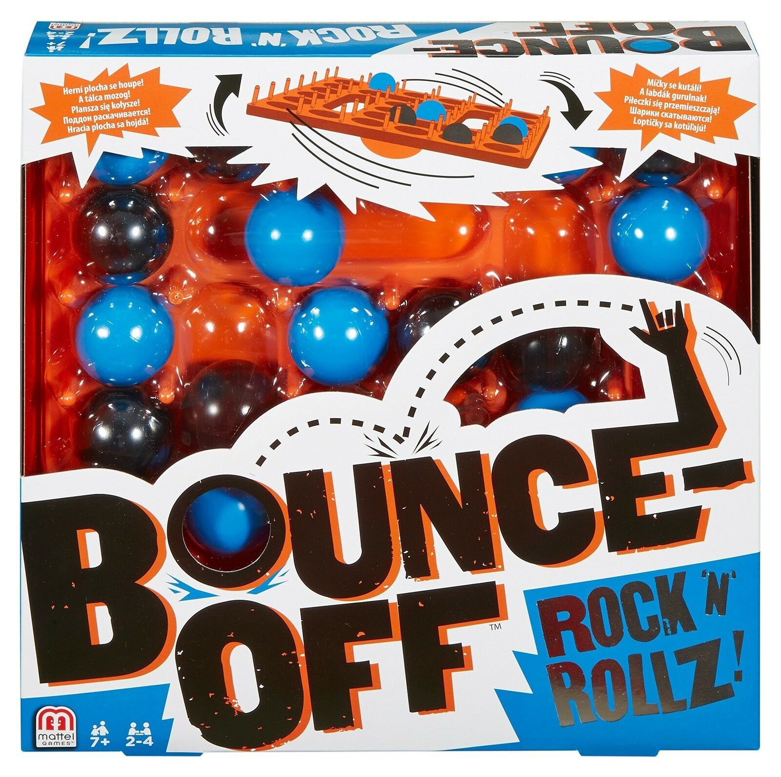 Bounce-Off Bounce-Off Bounce-Off DNG25 Rock N Rollz Game Pack of 1 1b16f2
