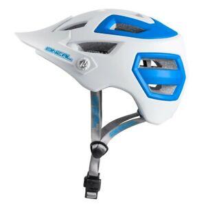 » ONeal Pike Helmet White/Blue L/XL 58-61cm