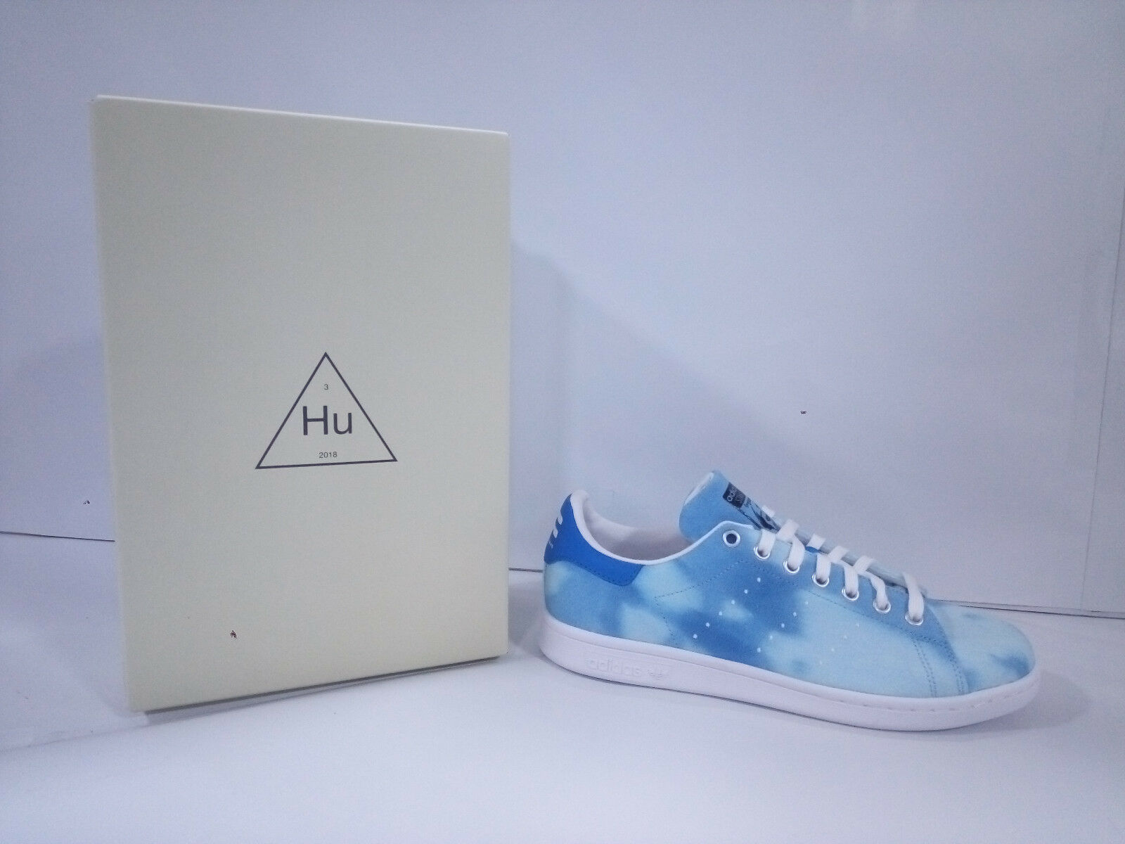 Adidas Chaussures Homme Pharrell Williams Hu Holi Stan Smith Céleste AC7045