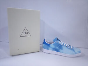 premium selection b6d21 7724c Details about Shoes Adidas Man - Pharrell Williams Hu Holi Stan Smith -  Baby Blue - AC7045