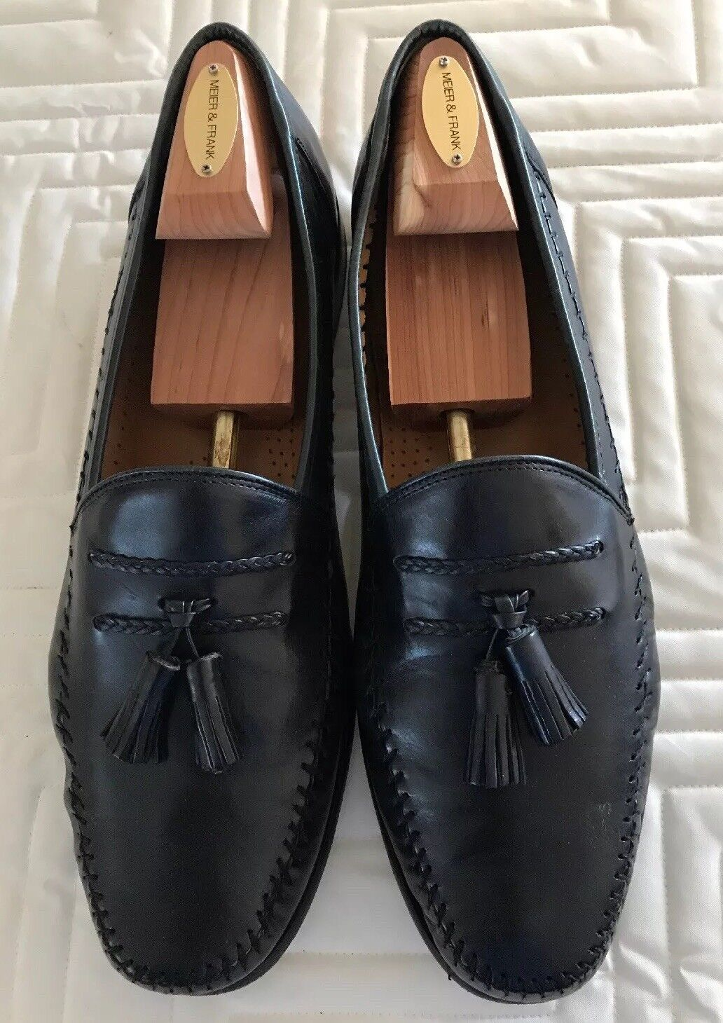 Genuine Leather Sandro Moscoloni LA VIDA NVY SY Men's  Dress shoes 13 B