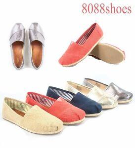 Women-039-s-Cute-Comfort-Slip-On-Flat-Sandal-Sneaker-Shoes-Size-5-5-10-NEW