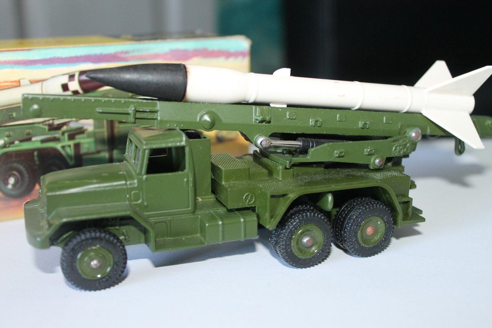 Dinky Toys 665  Honest John missile Launcher  1 43  original  OVP
