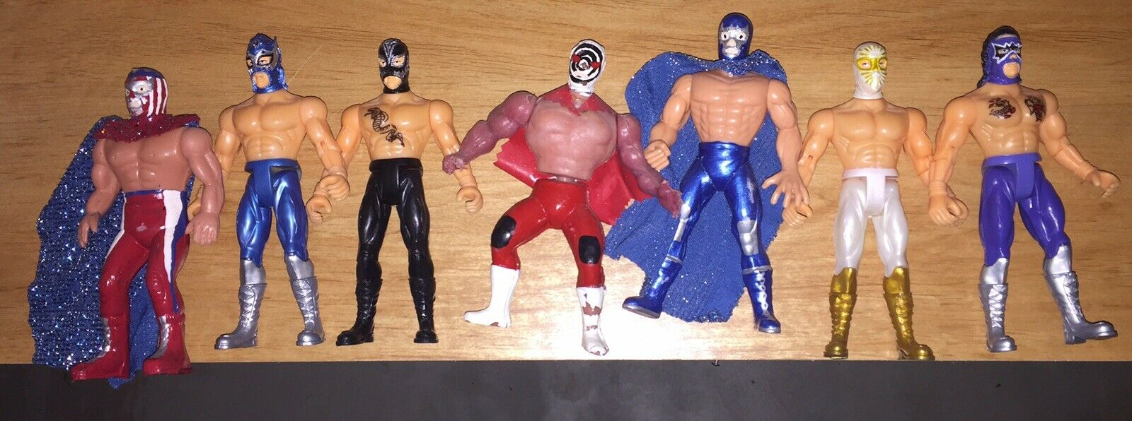 Lucha Libre Wrestling Action Figures Mexican Arena Figure