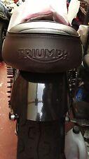TRIUMPH  T120 BONNEVILLE BLACK SHORTER REAR FENDER, SMOOTH
