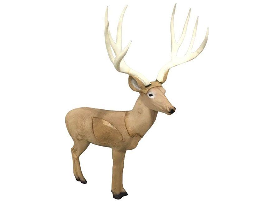 Nuevo Rinehart Objetivos Booner mula Ciervo Buck Caza De Arco Tiro Con Arco Target 18011