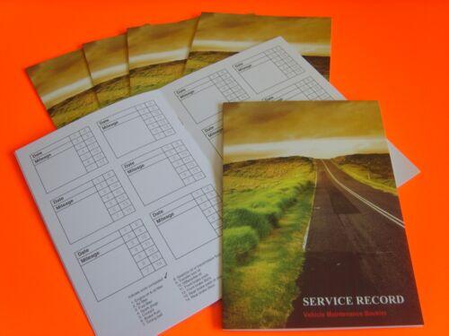 Vauxhall Service History Book Replacement Log Corsa Astra Insignia Zafira Mokka