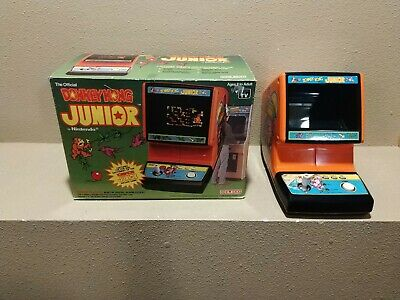 Coleco Nintendo Arcade Tabletop Game Donkey Kong Jr Junior In The