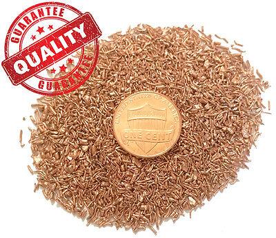 Orgone/Orgonite Supplies - .999 Fine Copper Shavings - 1 lb - Metal Art Turnings