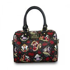 Loungefly x Disney Villains Tattoo Flash Duffle Bag Purse Handbag WDTB0873