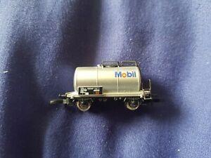 RARE Marklin Mini-Club Z Gauge 8612,918 SBB Mobil tanker in Good Condition
