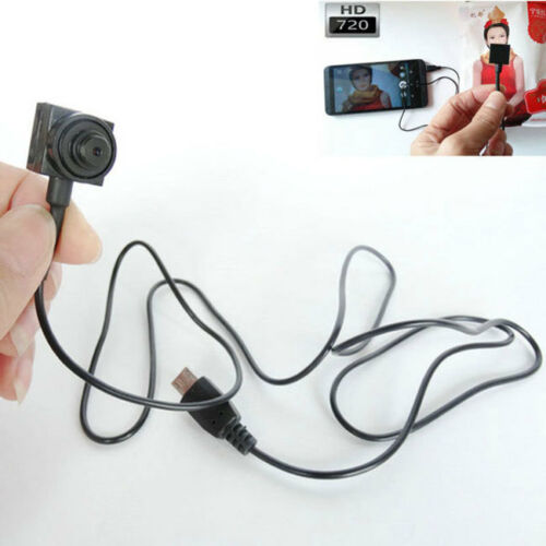 DIY mini HD 720P Outdoor spy video DVR hidden Connect mobile camera for android