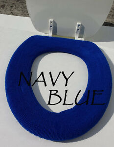 Image is loading Bathroom Toilet Seat Warmer Cover Washable Navy Royal Bathroom Toilet Seat Warmer Cover Washable   Navy Royal Blue  . Royal Blue Toilet Seat. Home Design Ideas