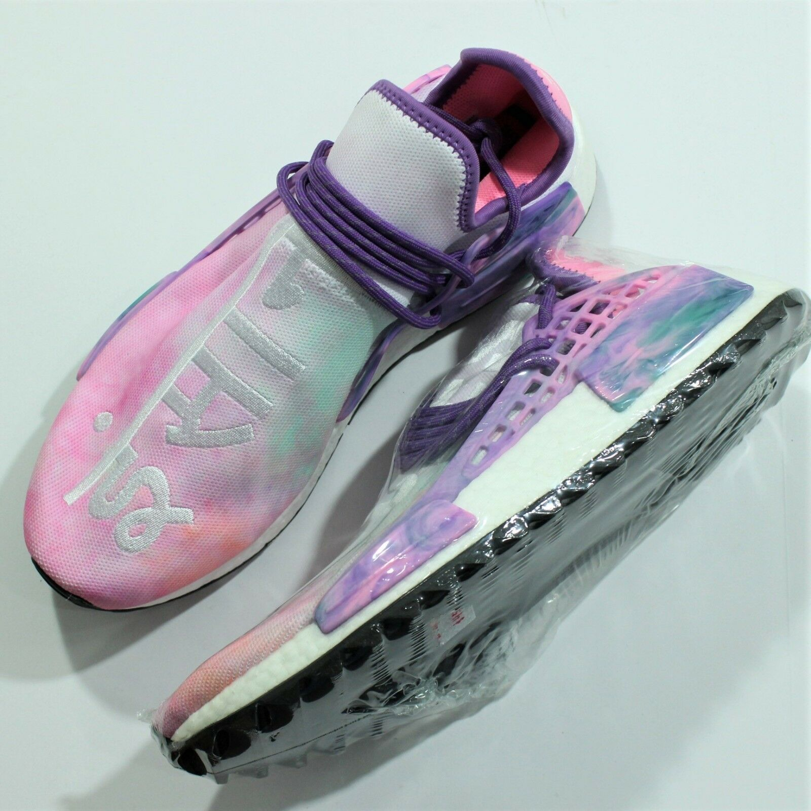 Authentic Adidas Pharrell NMD Hu Holi AC7362 SZ 12.5 Men's