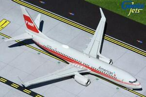 Gemini Jets American Airlines B737-800(W) 1:200 Scale G2AAL473 With Stand