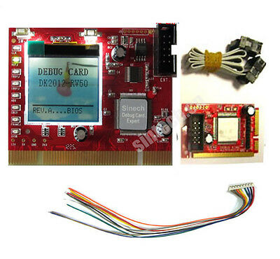 Sintech laptop Mini PCI-E LPC PC PCI diagnostic test debug card tester