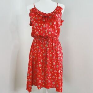 Rebecca Taylor Floral Sleeveless Mini Dress Women's Size 0