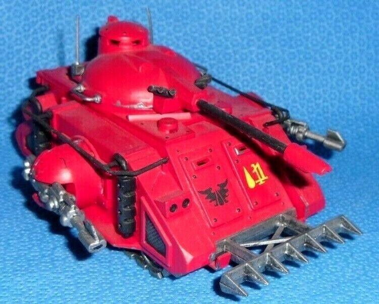 40k Space Marines Blood Angels Protator Painted - OOP Mk1 Tank Rogue Trader  1