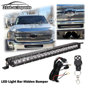 silverado wiring harness ebay for chevy silverado 1500 2500 3500 led light bar 21   hidden  for chevy silverado 1500 2500 3500 led