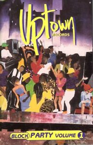 Various Uptown's Block Party Vol 1 1996 Cassette Tape Hiphop Mary J Heavy D