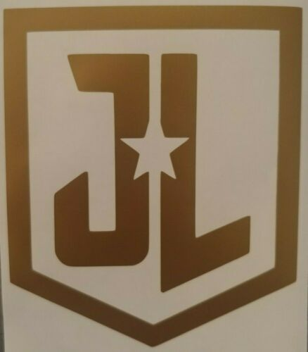 Justice League Movie Logo vinyl decal choose Color//Size