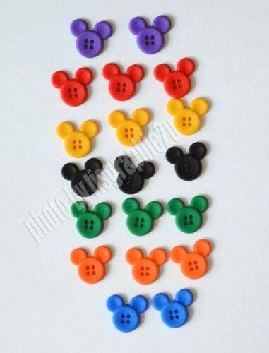 Sew Thru Mickey Disney License ~ Dress It Up Mickey Mouse Sew Thru Buttons