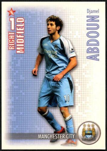 C1302 DJAMEL ABDOUN Man City Shoot Out 2006-7 Boîte Magique Football Trade Card
