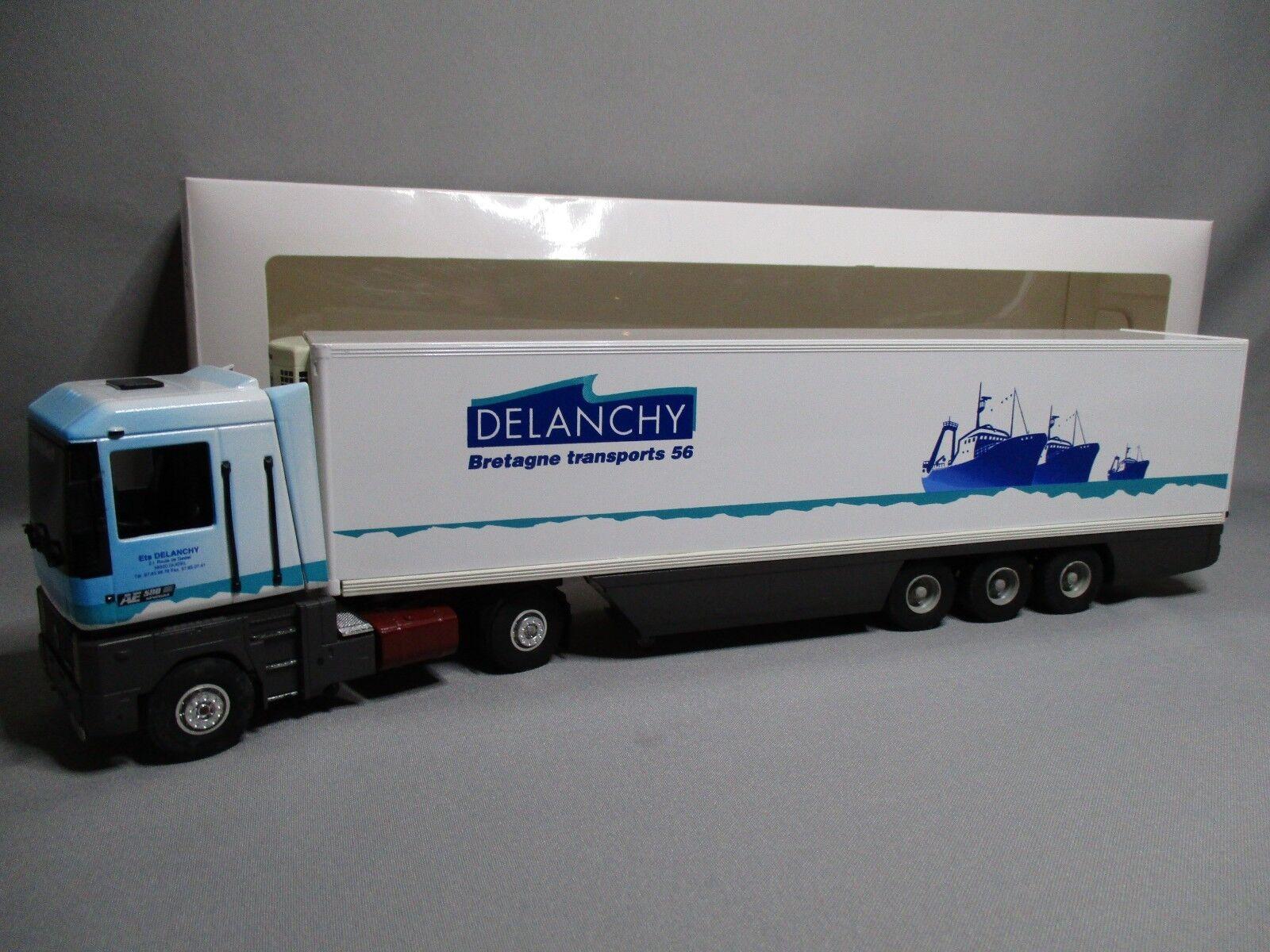 DV8025 ELIGOR 1 43 RENAULT AE 500 DELANCHY BRETAGNE TRANSPORTS 56 110796 RARE