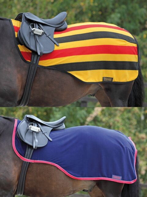 Shires Wes Fleece Exercise Sheet Horse All Sizes Colours