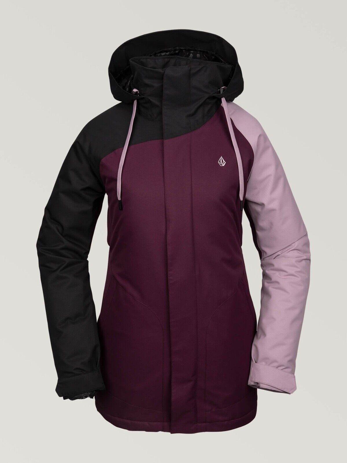Brand New damen 2020 Volcom Westland Insulated Snow Jacket Merlot
