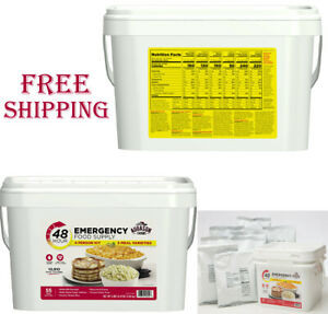 Emergency Food Supply 55 Serving Storage Doomsday Preppers 30 Year
