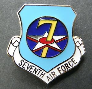 USAF-7TH-AIR-FORCE-SHIELD-LAPEL-PIN-BADGE-1-INCH