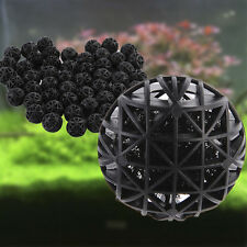50pc 26mm Biological Bio Ball Aquarium Fish Nano Tank Pond Canister Filter Media