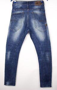 G-Star Raw Herren Type-C Super Slim Jeans Stretch Größe W29 L32 ASZ569