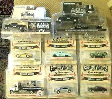 GreenLight Gas Monkey Garage Lot Hollywood,Hitch & Tow 8 Die- Cast Model Car Set