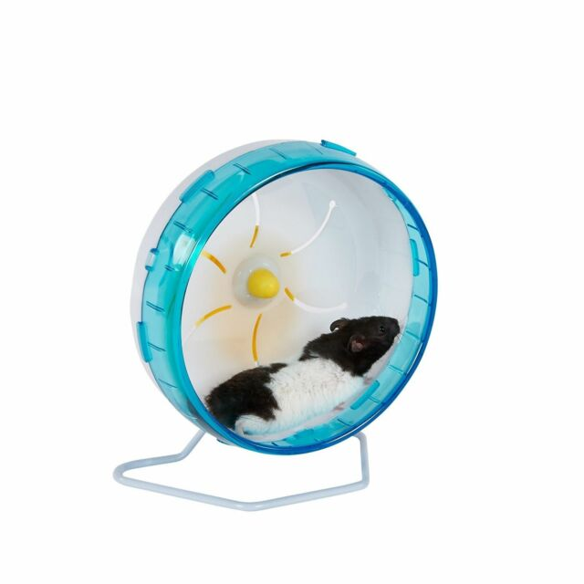 Silent Spinner Exercise Wheel for Rodents Mice Hamster Gerbil Rats 19.5cm