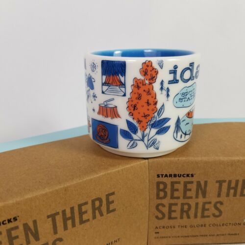 Starbucks Idaho Mini BEEN THERE Ornament 2019 Coffee Cup Mug Demitasse Shoshone