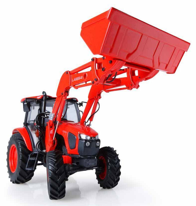 Kubota m5111 with Front Loader Europe tractor 1 32 Model 5212 universal hobbies