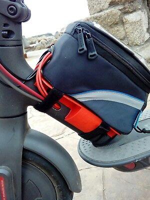 pieza 3D en goma flexible para pata de cabra..caballete 3D Xiaomi Mijia M365