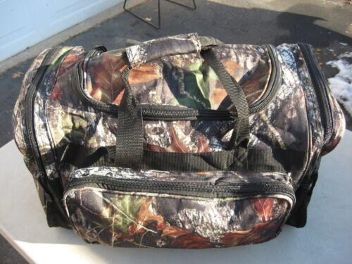 Mossy Oak Duffle 4 Pocket Cargo Bag Hunting Shooting Fishing Archery Gym Tote