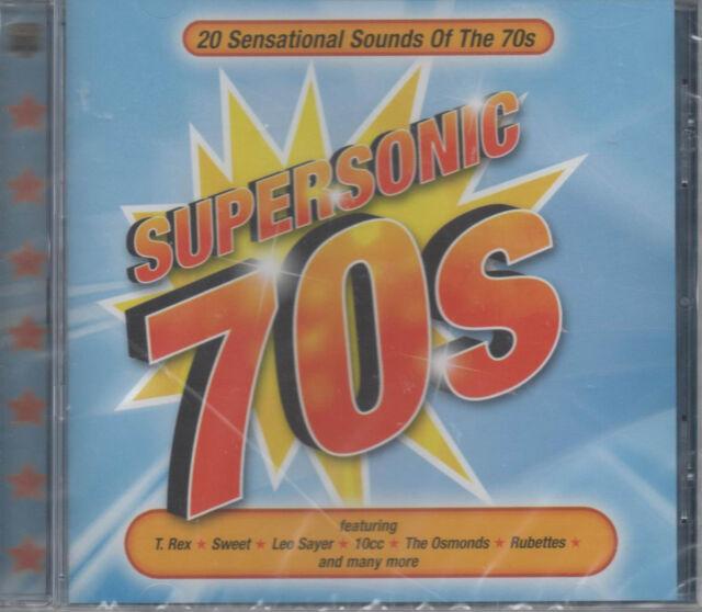 Supersonic 70s CD NEU Sweet Leo Sayer 10cc The Osmonds Rubettes T. Rex